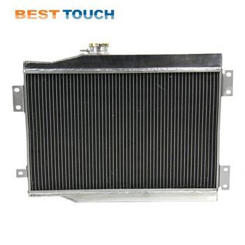 JEEP CJ,CJ5,CJ7 V8/CONVERSION(CHEVY )1972-1986 bus plate fin cooling water air radiator for JEEP