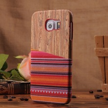 Wooden case for cell phone for samsung s6 /s6 edge,bamboo cell phone case