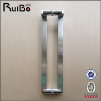 Stainless steel L shaped handle pull handle RB-3018