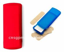 Plastic woundplast band-aid bandage dispenser