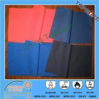EN11611/EN1149/NFPA 2112 aramid inherently flame retardant fabric 260gsm for workwear and coverall