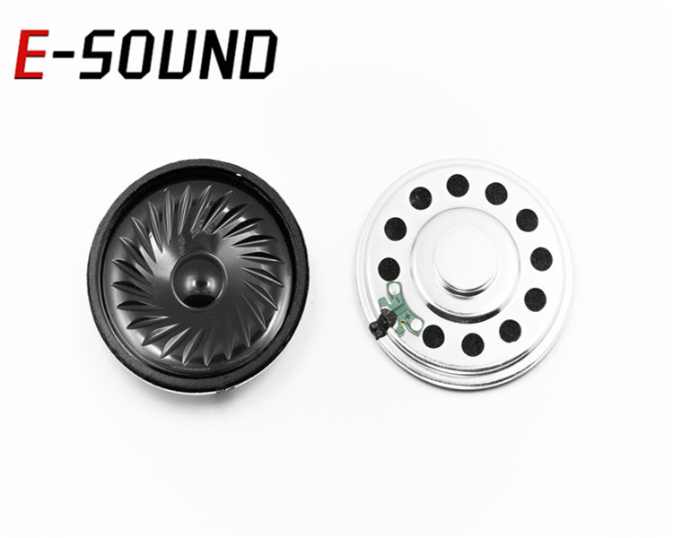DXI57N-A Accept customization 8 ohm  mini mylar speaker for Building system