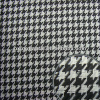 polyester black white jacquard fabric for upholstery&bag