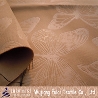 Plain Embossed Design Dull Butterfly Blackout Fabric for Upholstery