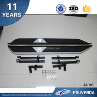 Side Step bars car auto exterior accessories running board For XV From Pouvenda