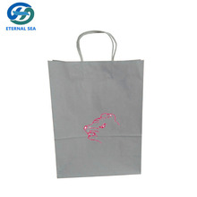 kraft christmas gift paper bags with logo