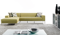 Modern Rexine Fabric Sofa For Sale 9526