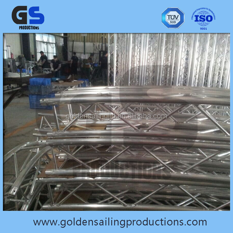 Indoor/outdoor easy truss system for wedding / performance