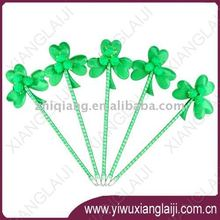 St.Patrick's day promotional shamrock ball pen
