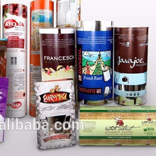 laminated material plastic roll stock film for snack food packaging