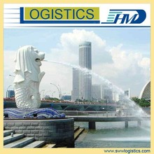 Door to door sea freight Qingdao to Singapore