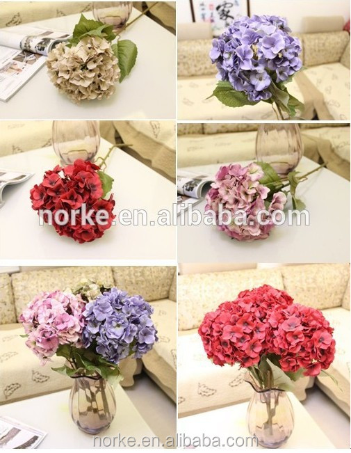 high quality artificial flowers, artificial hydrangea flowers