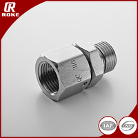 hydraulic stainless steel SS316 pipe fitting adapter pipe connection