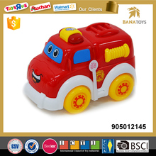 Battery operated fire truck toys with light