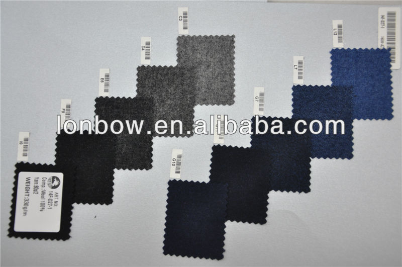High Quality New Development 100 Wool For Fall Winter Plain Fabric For Jacket