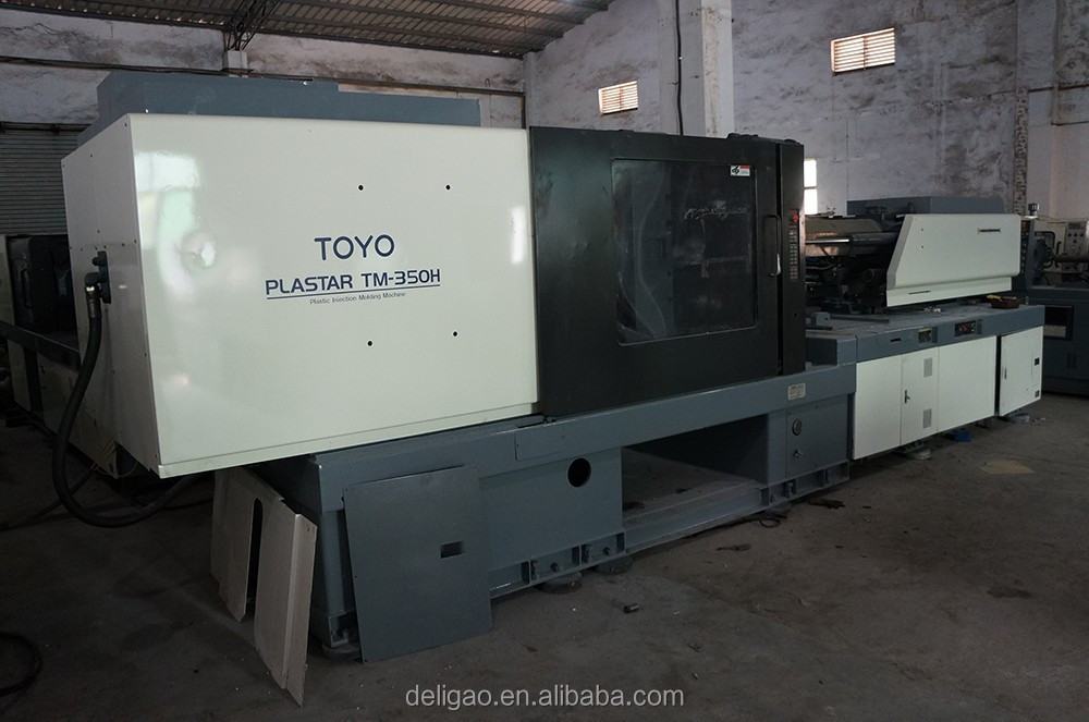TOYO 130T/350T used plastic injection molding machine