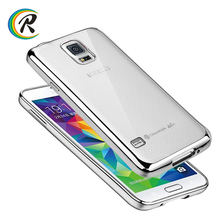 mobile phone case for samsung for Samsung galaxy S4 plating tpu back cases covers