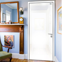 White Interior Door,Single Wooden Door Design,Wooden Main Door Design