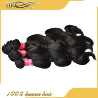 Grade 7A Virgin Brazilian Human Hair Body Wave Supreme Hair Weave