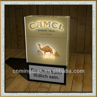 LED acrylic cigarette display, camel led cigarette case,led cigarette case display