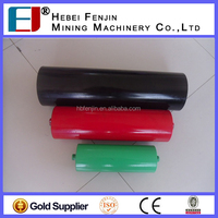 supply Conveyor Carrier Joint 3 Trough Roller for steel mill