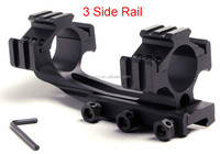 3 Side Rail 20mm Mount for Rifle Scope Tri-Rail 30mm Ring 20 Rail Long Base Riflescope Mount hunting LD302
