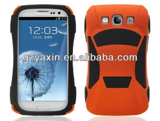 High Quality 3D Silicon Case for Samsung Mobile Phone i9300 Cover