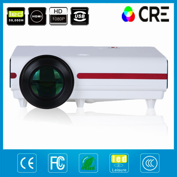 Video phone mini beam projector/ home theater projector/1080p full hd xxl tv movie sex projector