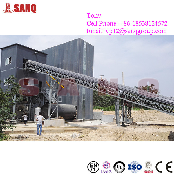 HZS120 Ready Mixed Concrete Batching Plant in Philippines