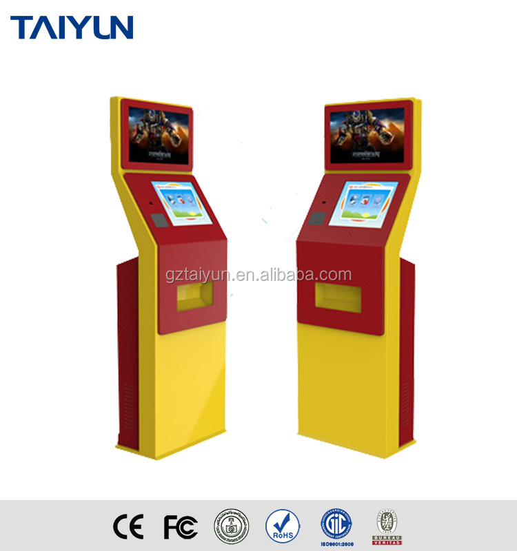 Floor Standing Self Service Touch Screen Kiosk/New Bank Model Self Service with Touchscreen/Interactive Kiosk Touch Kiosk