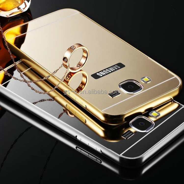 Most popular products china mirror back cover case for Huawei P10 LITE