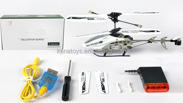 Iphone Control 3 Channel remote control helicopter rc helicopter toy