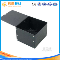 Wholesale ESD Plastic Corrugated Box With Lid Plastic Hollow Board Box For Electronics