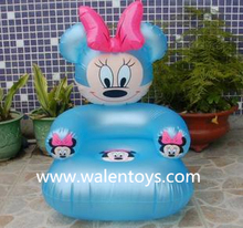 animal shape inflatable chair, promotional air chair,small air chair