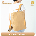 School washable paper backpack, laptop washable Kraft paper backpack