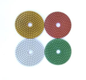 4 inch wet use floor diamond polishing pad for Quartz Granite Polishing