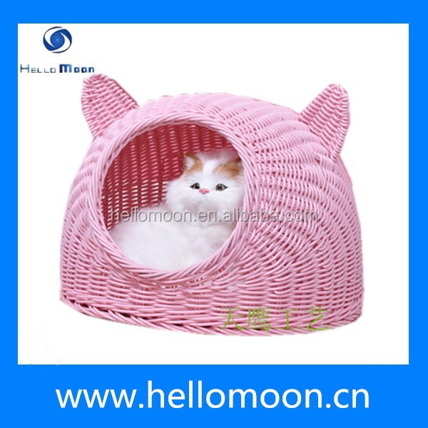 2015 High Quality Fashion Newest Eco-friendly Rattan Cat House