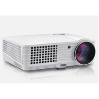 LED Home theater Projector with Double HDMI and Double USB Interface high lumen led projector