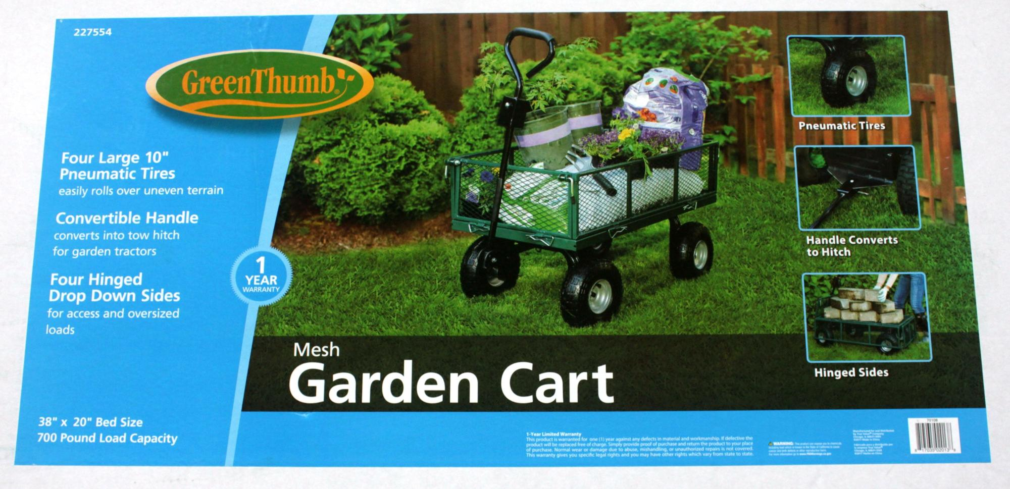 Garden Tools Cart 400LB dump garden wagon and trolley True Value factory in China
