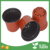 hot sale round black nursery plastic flower pot