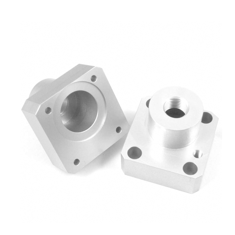 Anodized Aluminum Turning Lathe CNC Machining Parts