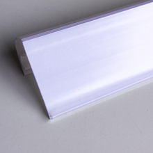 China goods wholesale of plastic material and white color price tag holder