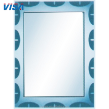 Custom decorative acrylic wall craft square glass mirror pieces