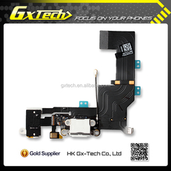 Original New For Iphone 5s Dock Connector Flex Cable, Charging Port Flex Cable For Iphone 5S