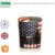 New arrival modern round US flag tin bucket storage stool with leather cover