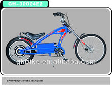 36v 250w electric chopper bike electric bicycle