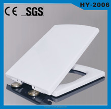 UF material soft close square toilet seat HUIYUAN factory