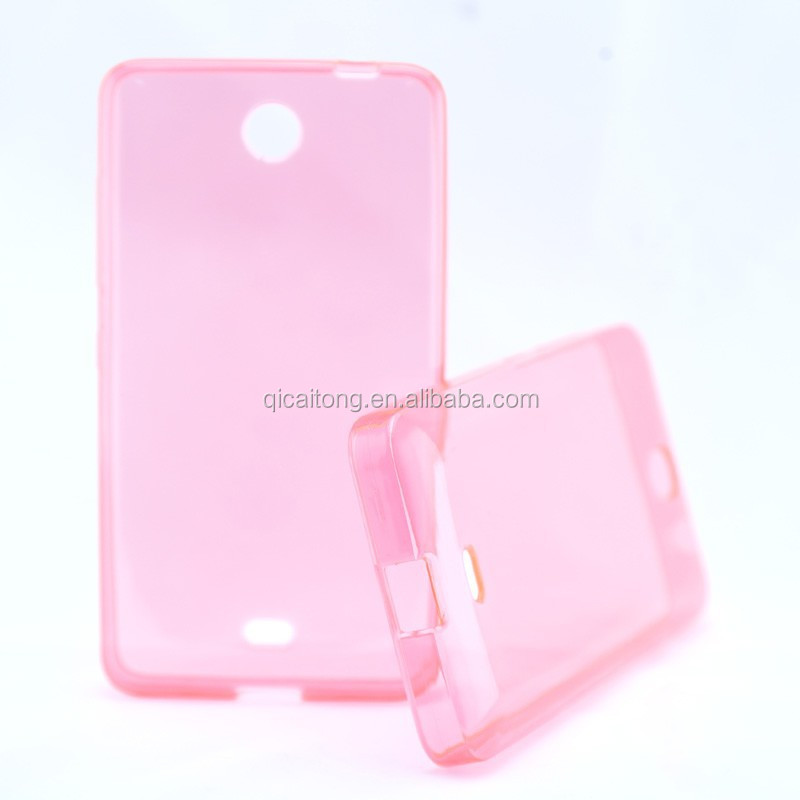 TPU / Silicon Soft gel clear transparent case for nokia 430 dual smartphone