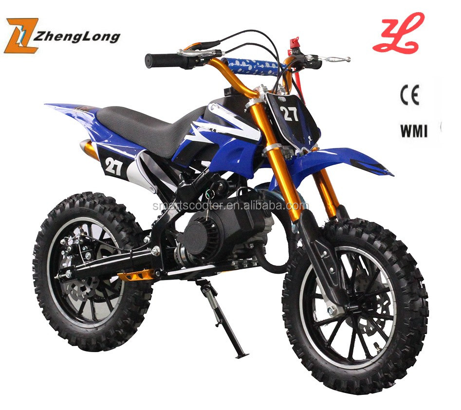 Chinese factory price 50cc mini dirt bike kick start cross bike