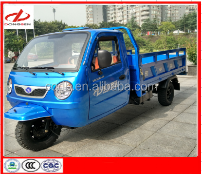 800CC Motor -engine with Closed Cabin Cargo Tricycle
